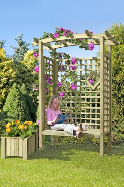 Arkadensitzpergola