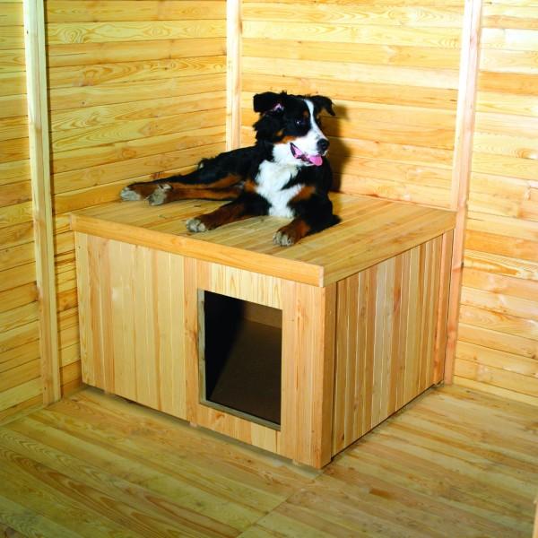 Hundehütte für Hundezwinger promadino