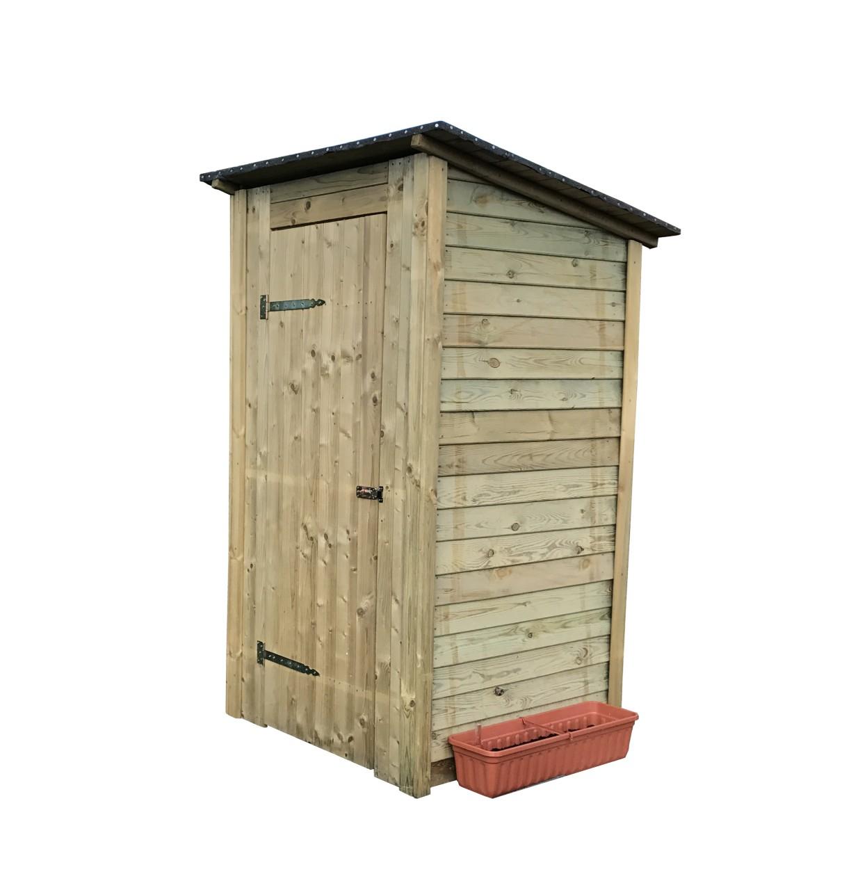 Toilettenhaus Flachdach