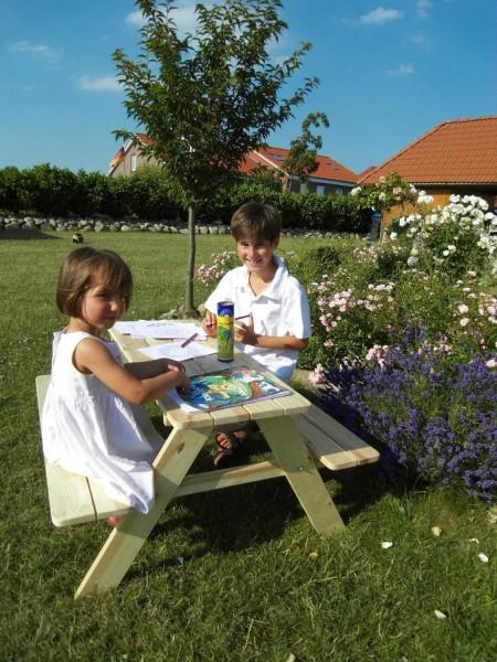 Limobank Picknicktisch für Kinder