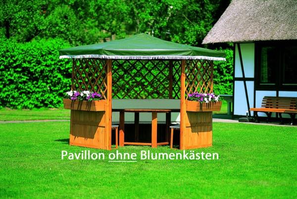 """Pavillon """"Marburg"""" mit Möbeln"""